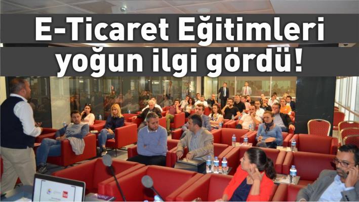 BALIKESİR TİCARET ODASI E-TİCARET EĞİTİMLERİ YOĞUN İLGİ GÖRDÜ!