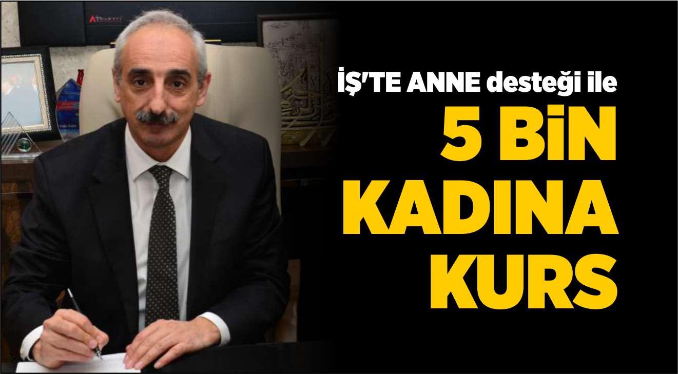 İŞKUR'DAN KADIN İSTİHDAMINA DESTEK
