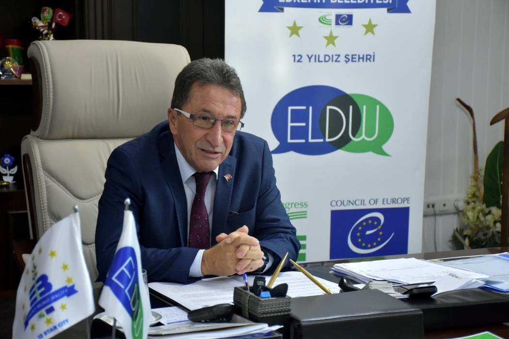 Edremit'te Avrupa Yerel Demokrasi haftası