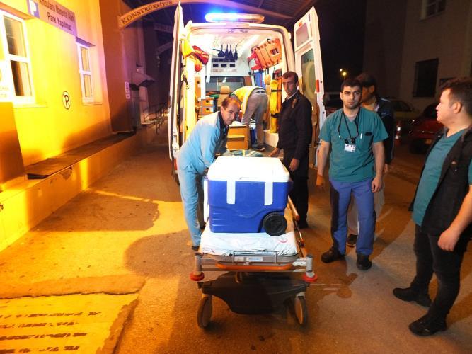 Genç kazazedenin organları 4 kişiye umut oldu