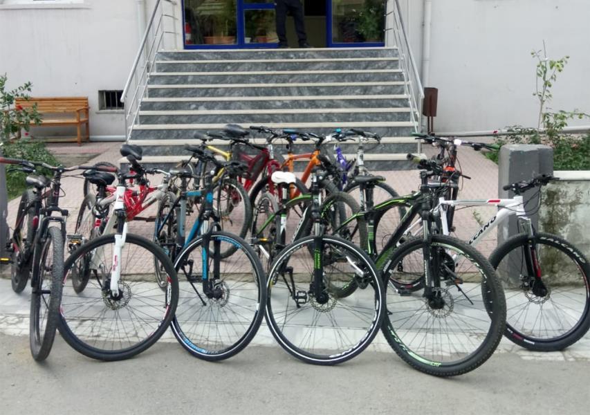 Erdek'te bisiklet hırsızı yakalandı