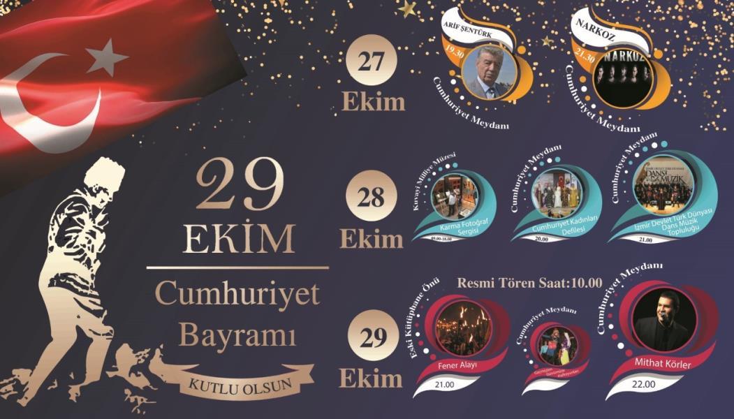 Cumhuriyet Bayramına 3 gün 3 gece kutlama