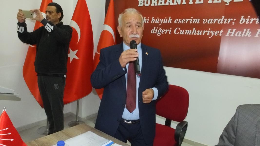 Burhaniye'de Şengider de aday adayı oldu