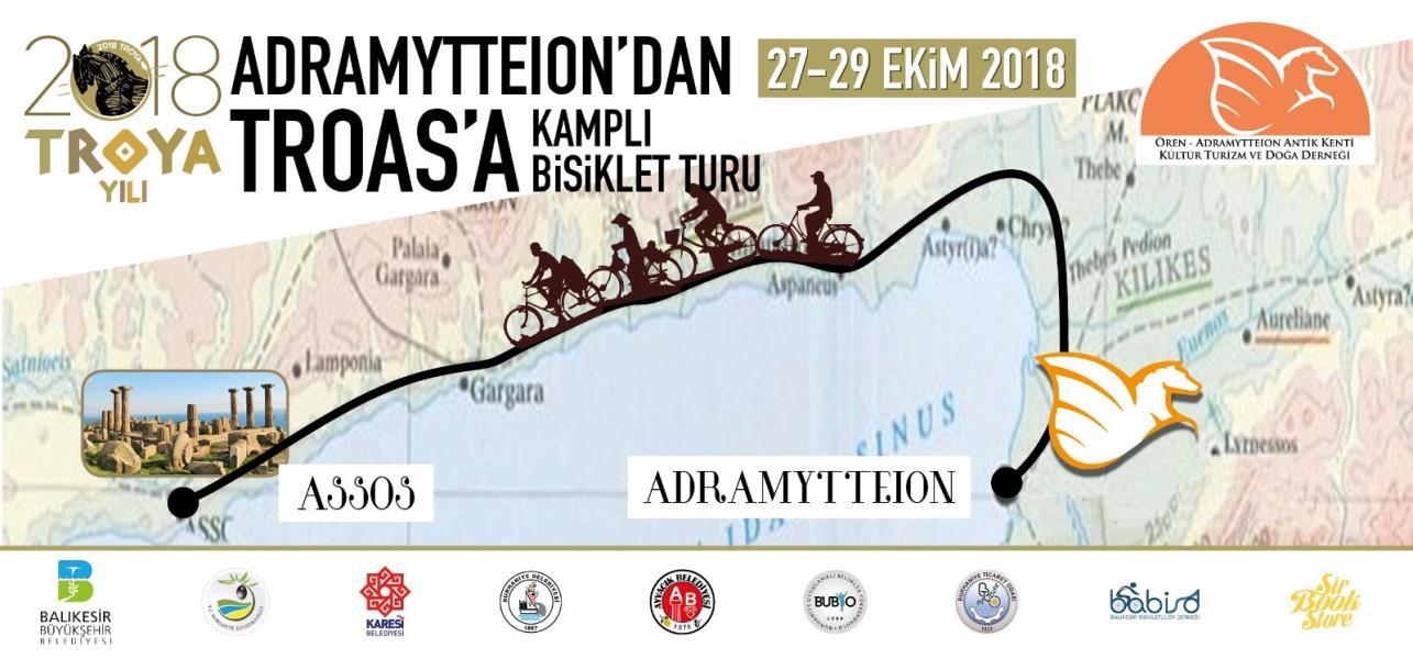 Adramytteıon'dan Troas'a Bisiklet Turu