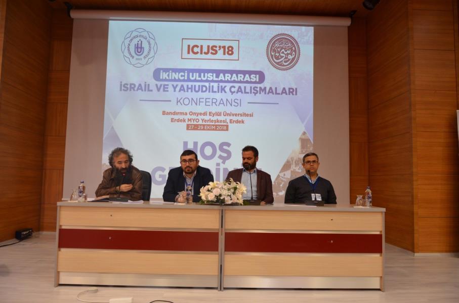 """Bandırma'da """"İsrail ve Yahudilik Çalışmaları Konferansı"""""""