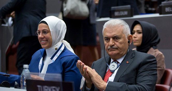 Binali Yıldırım Parlamentolararası Birlik toplantısında