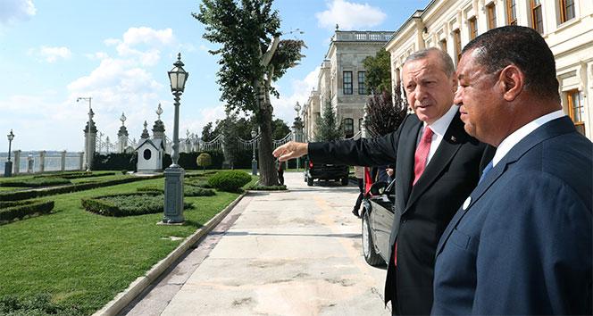 Cumhurbaşkanı Erdoğan, Etiyopya Cumhurbaşkanı Wirtu ile bir araya geldi