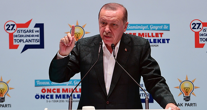 Cumhurbaşkanı Erdoğan: İşte o zaman külahları değişiriz