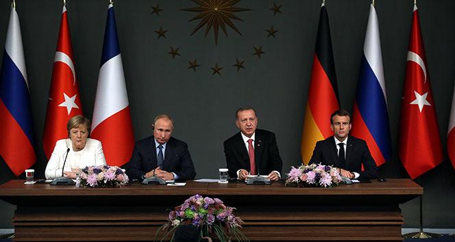Tarihi Suriye zirvesi sona erdi! İşte liderlerin ortak açıklamaları