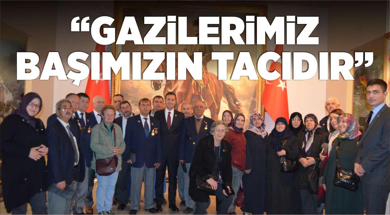 """""""GAZİLERİMİZ BAŞIMIZIN TACIDIR"""""""
