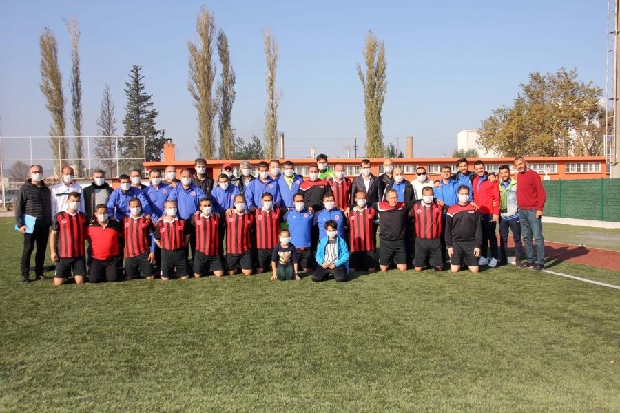 Balıkesir Futbol Masterler Derneği'nden anlamlı etkinlik