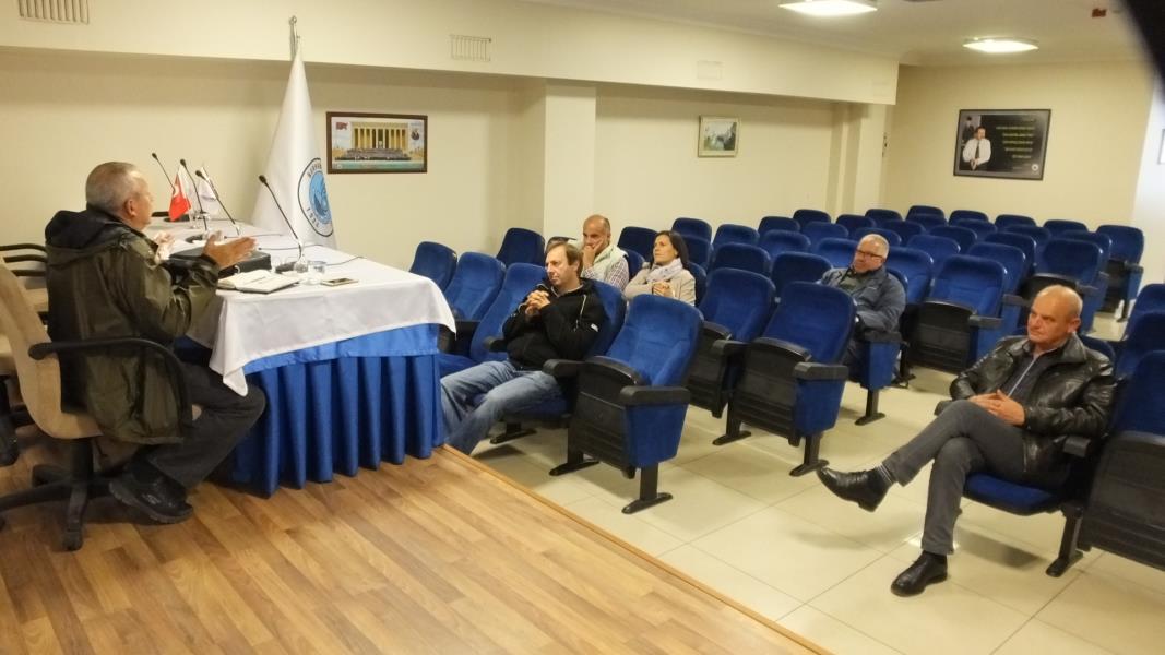Zeytin Üreticileri Federasyonu toplandı