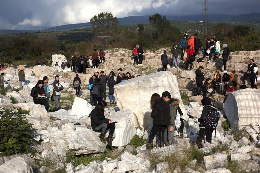 Kyzikos ve Hadrian tapınağı büyük ilgi görüyor