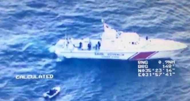 Kaybolan göçmenleri Sahil Güvenlik kurtardı