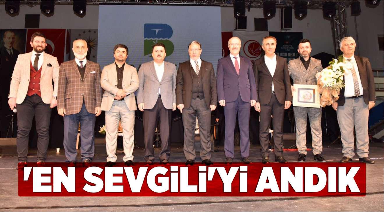 'EN SEVGİLİ'Yİ ANDIK