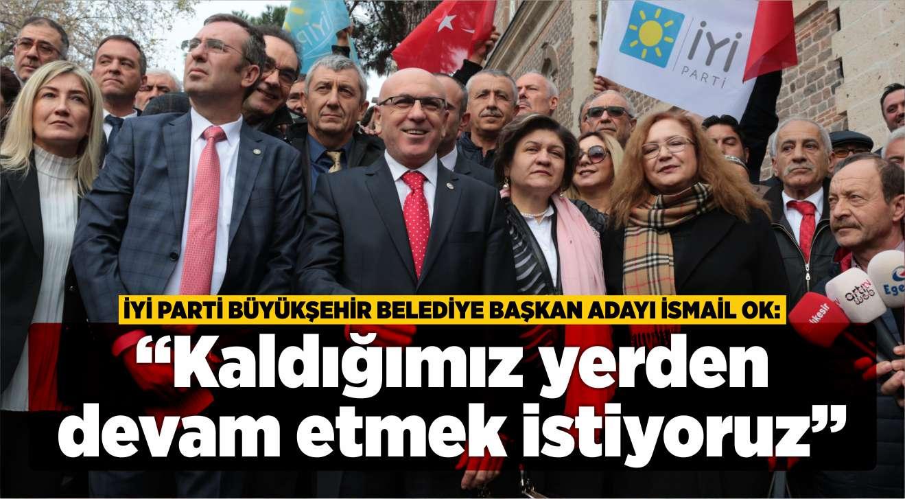 """""""KALDIĞIMIZ YERDEN DEVAM ETMEK İSTİYORUZ"""""""