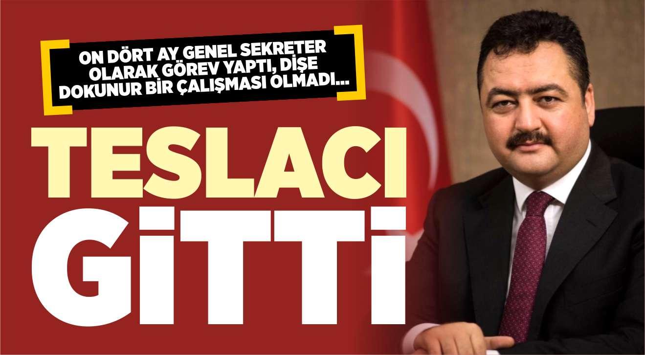 TESLACI GİTTİ