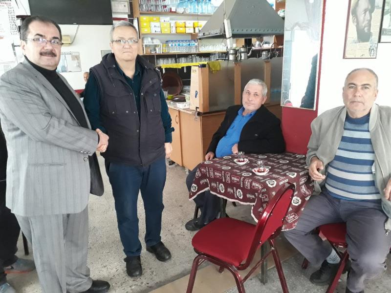 AK Parti aday adayları Edremit'in her köşesinde