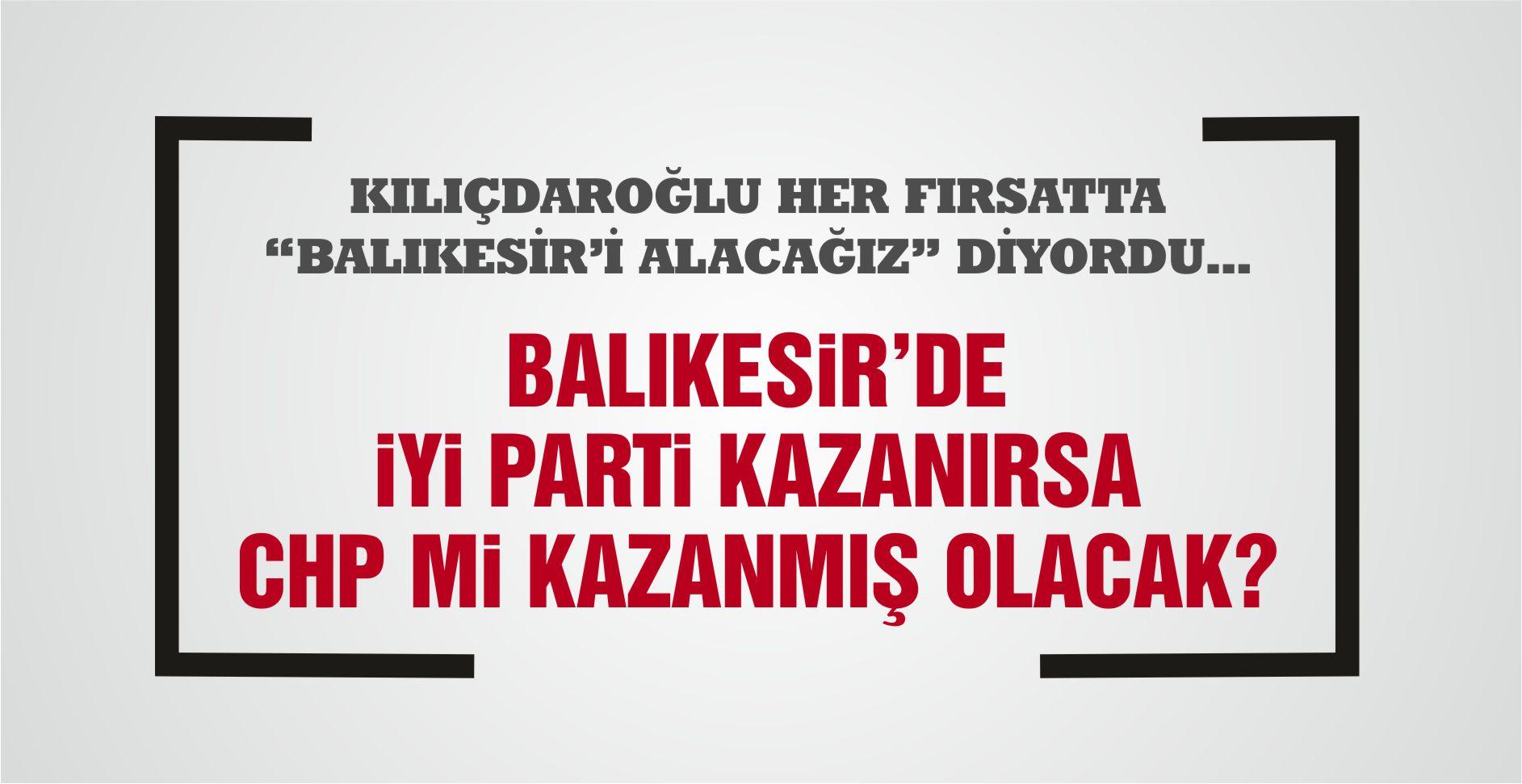 BALIKESİR'E İTTİFAK BOMBASI