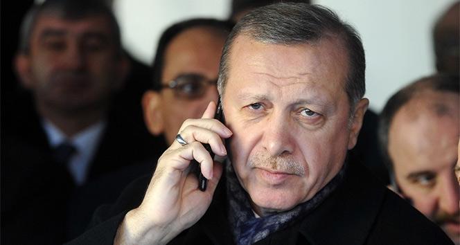 Cumhurbaşkanı Erdoğan, Merkel ile telefonda görüştü!