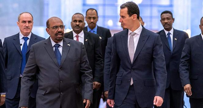 Esad, Sudan Cumhurbaşkanı Ömer el-Beşir ile görüştü