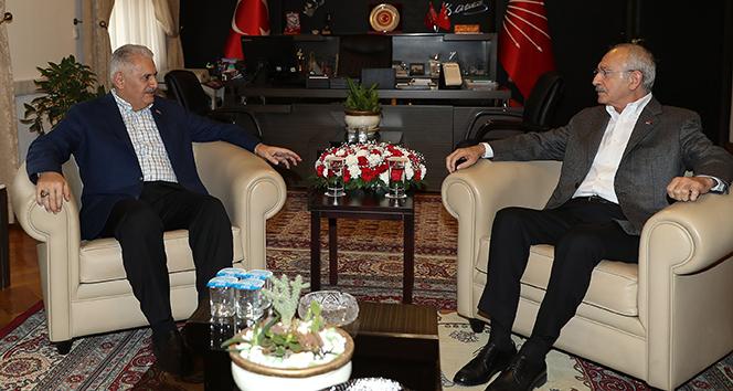 TBMM Başkanı Yıldırım, CHP Genel Başkanı Kılıçdaroğlu ile görüştü