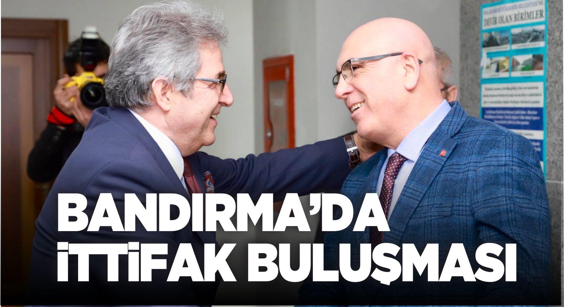 DURSUN MİRZA'DAN İSMAİL OK'A BANDIRMA VAPURU