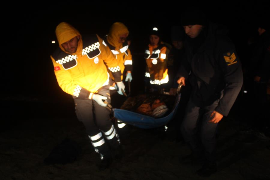 44 göçmen kurtarıldı