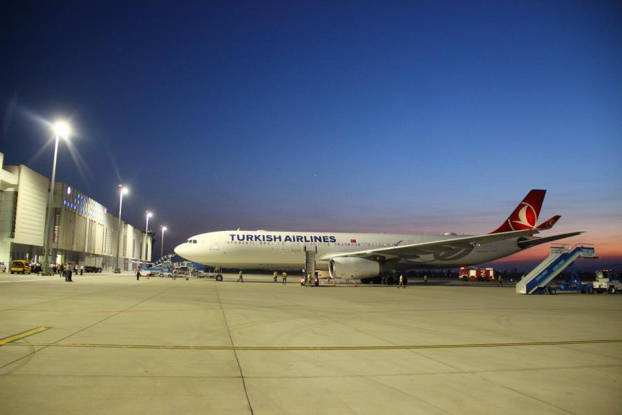 Koca Seyit Aralık'ta 16 bin 594 yolcu ağırladı