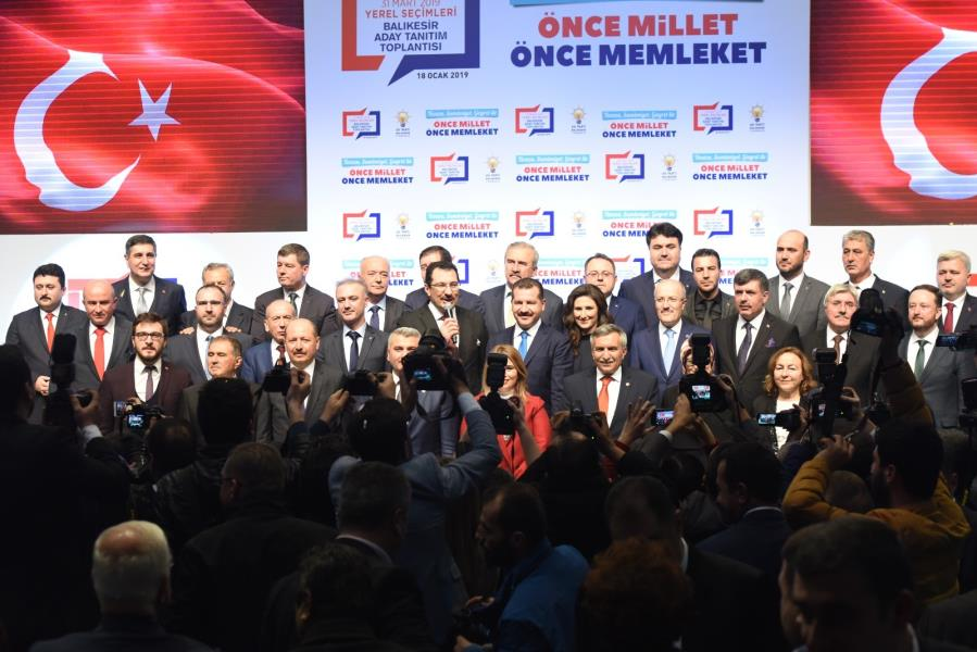 Cumhur İttifakı'nın Balıkesir adayları açıklandı