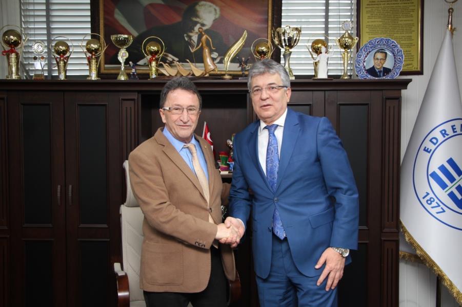 Başkan Adayı Arslan Saka'yı ziyaret etti
