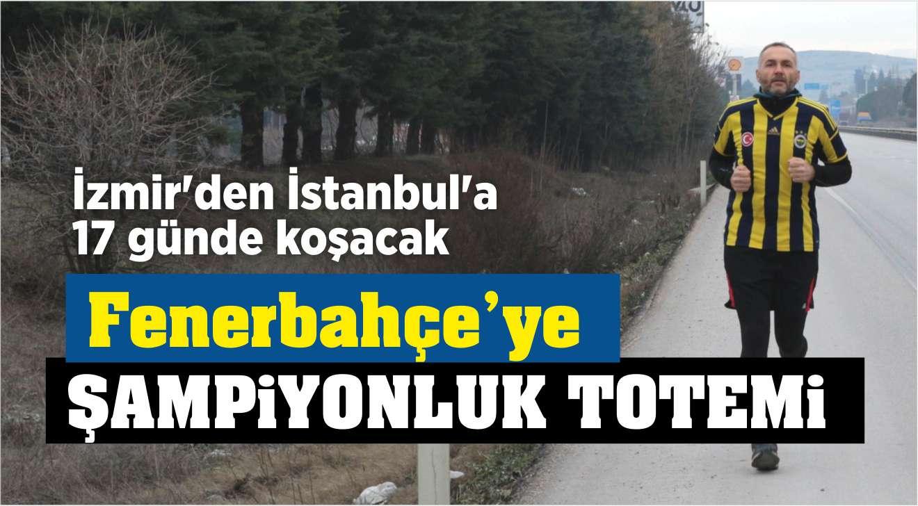 FENERBAHÇE'YE ŞAMPİYONLUK TOTEMİ