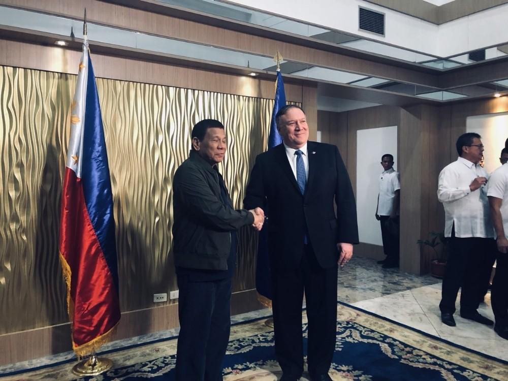 ABD Dışişleri Bakanı Pompeo, Filipinler'de