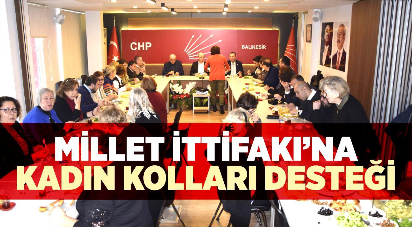 MİLLET İTTİFAKI'NA KADIN KOLLARI DESTEĞİ