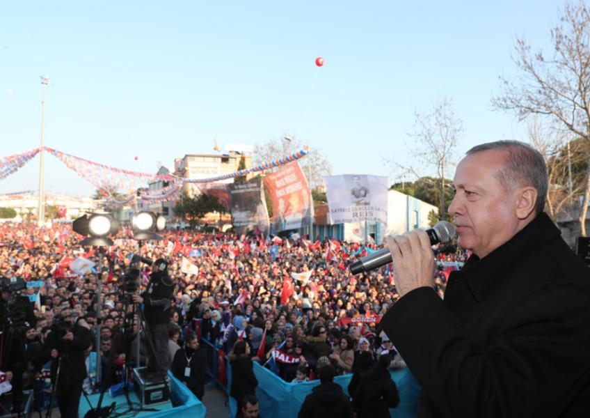 Cumhurbaşkanı Erdoğan Balıkesir'de