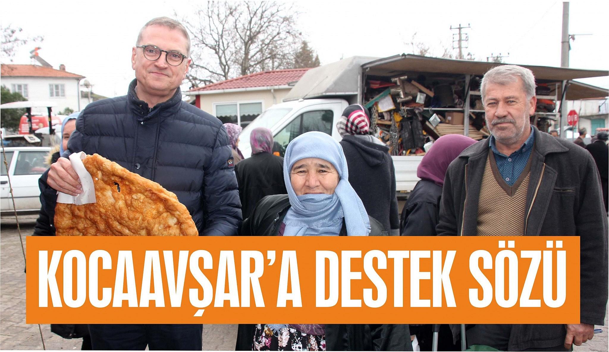 KOCAAVŞARLI'LARA DANIŞMA YÖNLENDİRME VE DESTEK HİZMETİ SÖZÜ