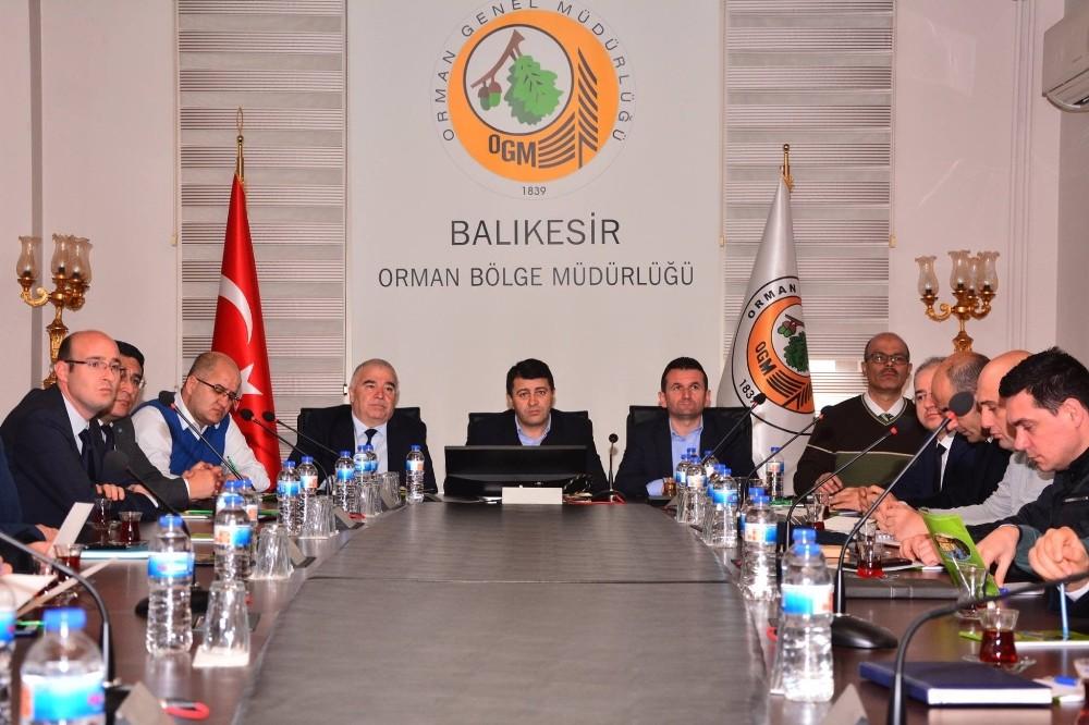 Balıkesir'de orman yönetim konseyi toplandı