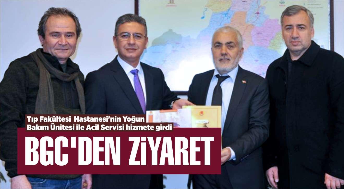 BGC'DEN REKTÖR KUŞ'A ZİYARET