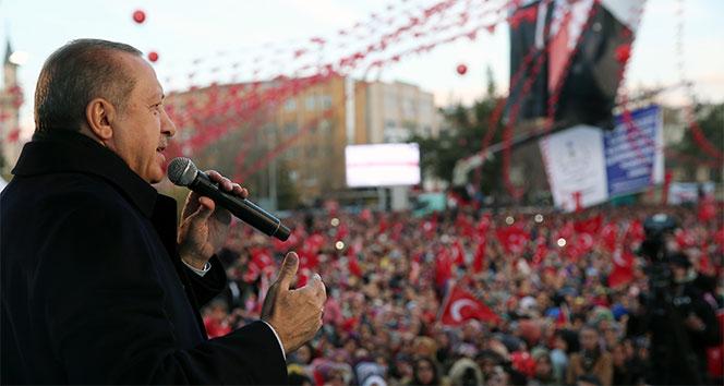 Cumhurbaşkanı Erdoğan müjdeleri art arda verdi