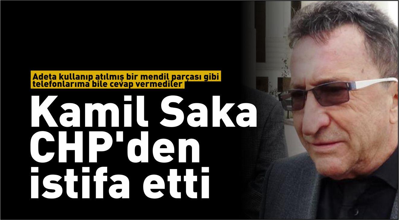 SAKA İSTİFA ETTİ