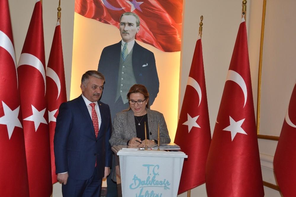 Ticaret Bakanı Pekcan:Balıkesir Türkiye'yi doyuran ve üreten il
