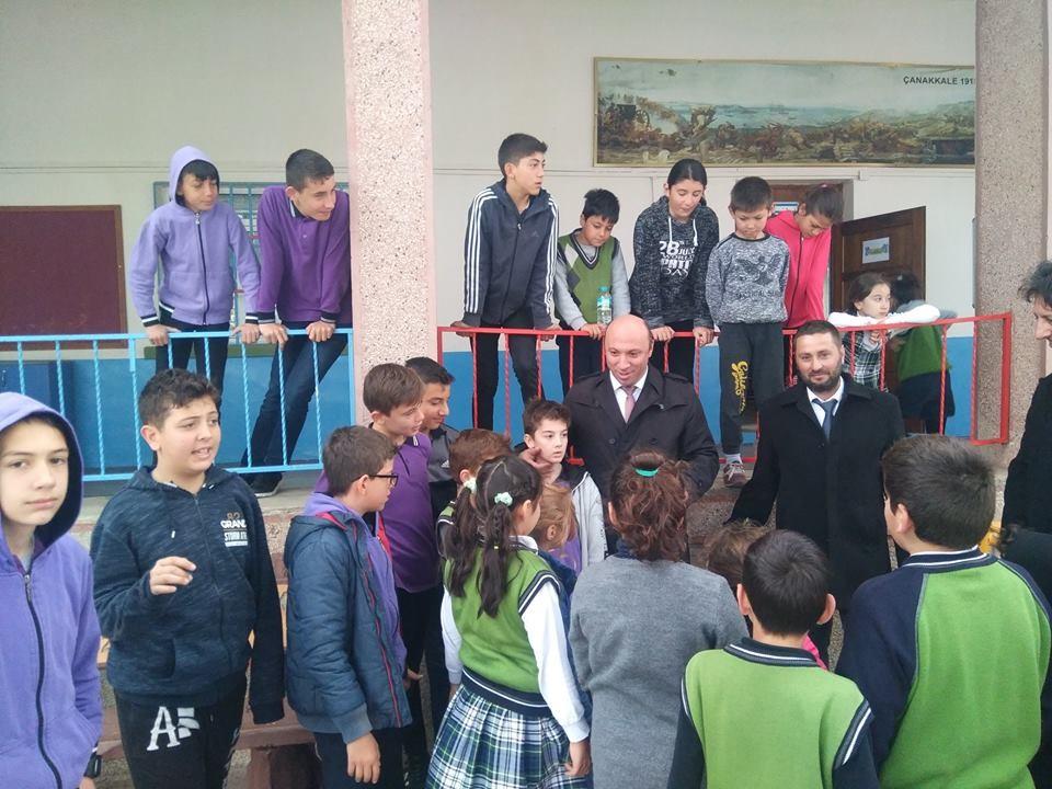 Öğrencilere zeytin ağacının değeri anlatıldı