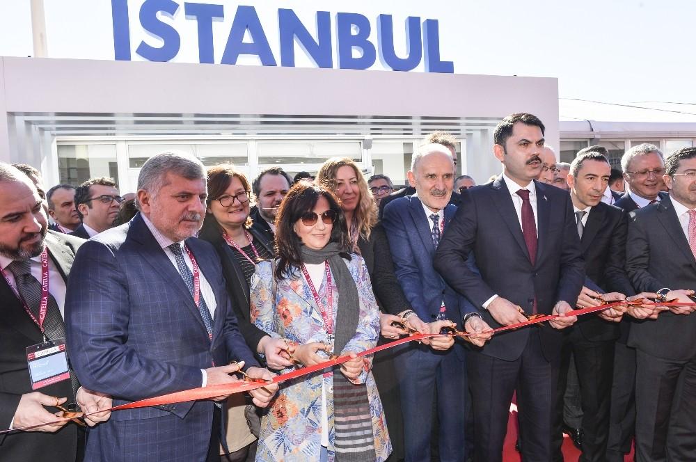 Çevre ve Şehircilik Bakanı Murat Kurum, MIPIM 21019'da Türkiye fuar açılışını gerçekleştirdi