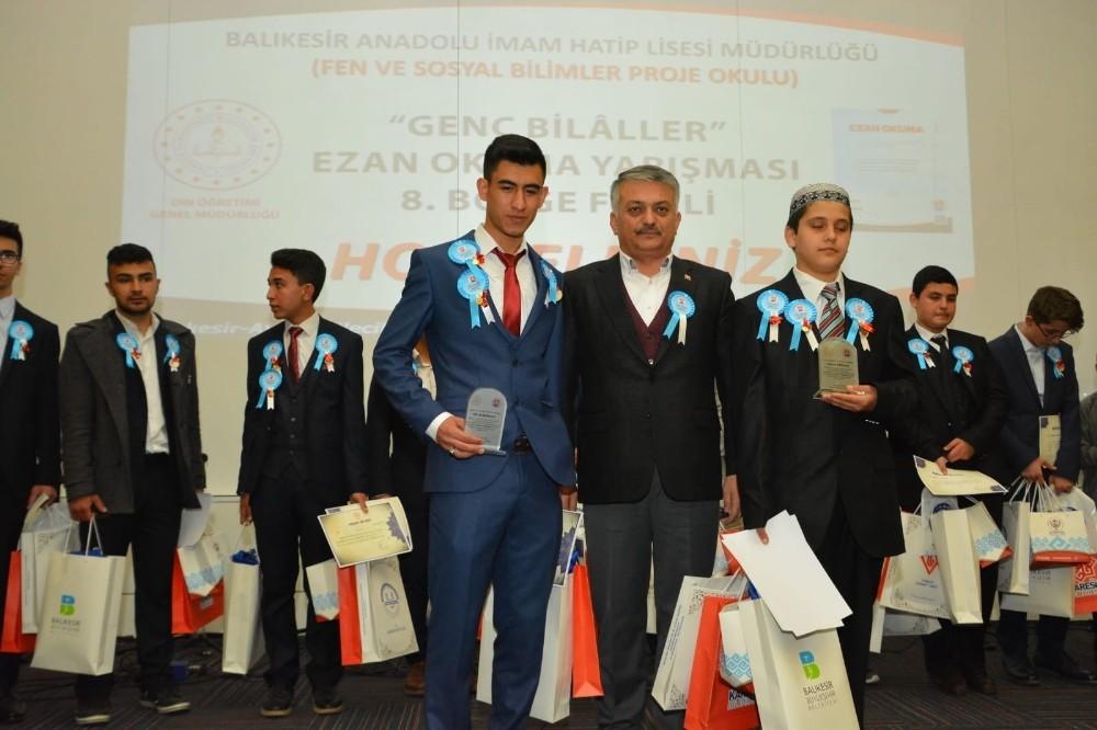 Genç Bilaller ezan okuma bölge finali yapıldı