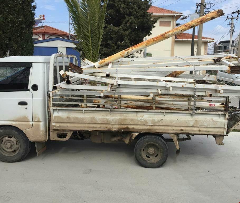 Demir hırsızlarını sivil jandarma kıskıvrak yakaladı