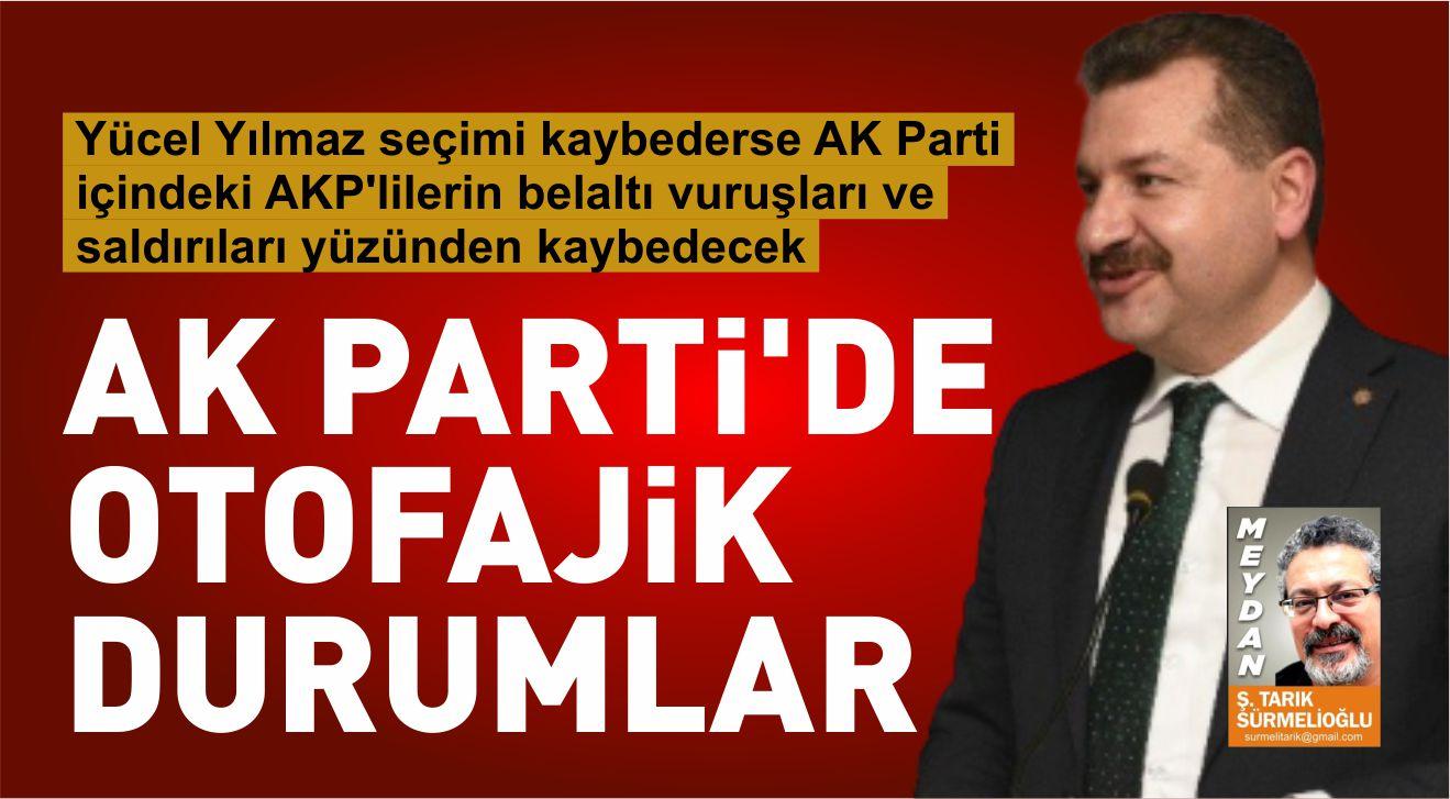 AK PARTİ'DE OTOFAJİK DURUMLAR
