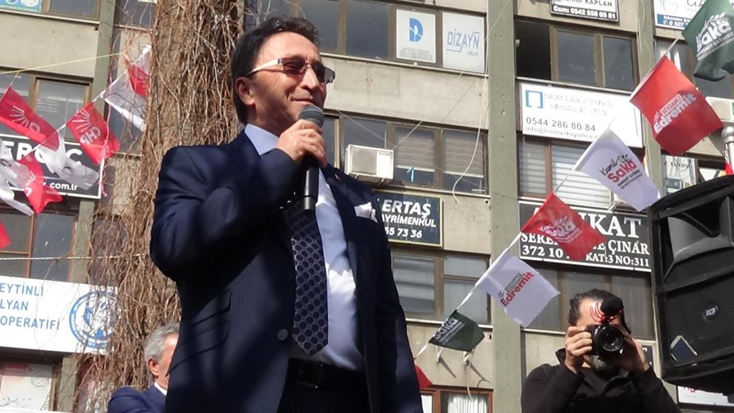Edremit Belediye Başkanı Saka CHP Lideri Kılıçdaroğlu'nu yaylım ateşine tuttu