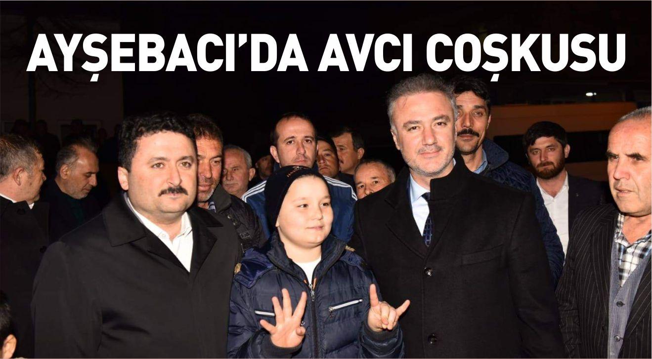 AYŞEBACI'DA AVCI COŞKUSU
