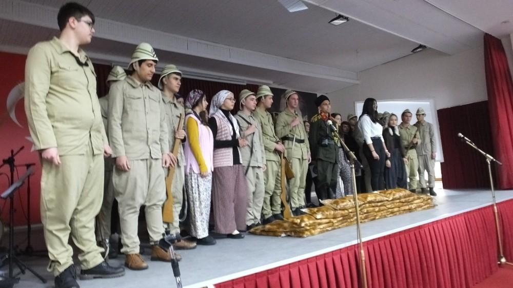 Burhaniye'de Çanakkale Zaferi coşkusu