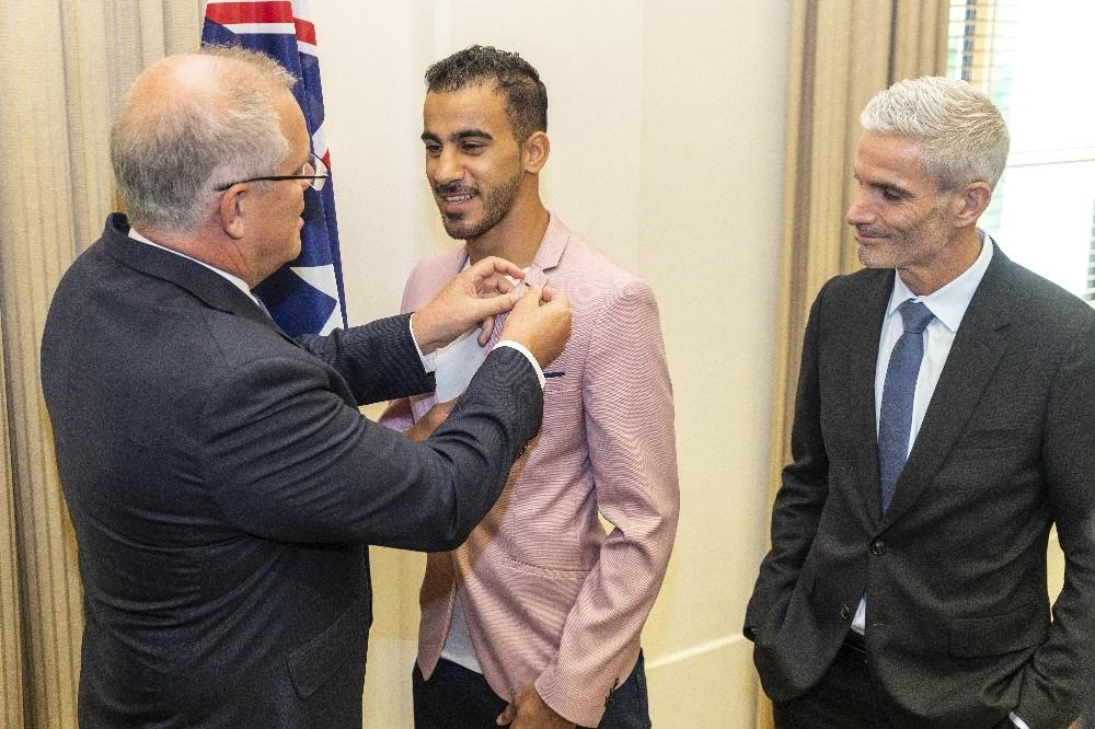 """Bahreynli futbolcu Araibi """"Ben Avustralyalıyım"""""""